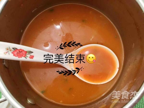 韩式部落年糕火锅成品图
