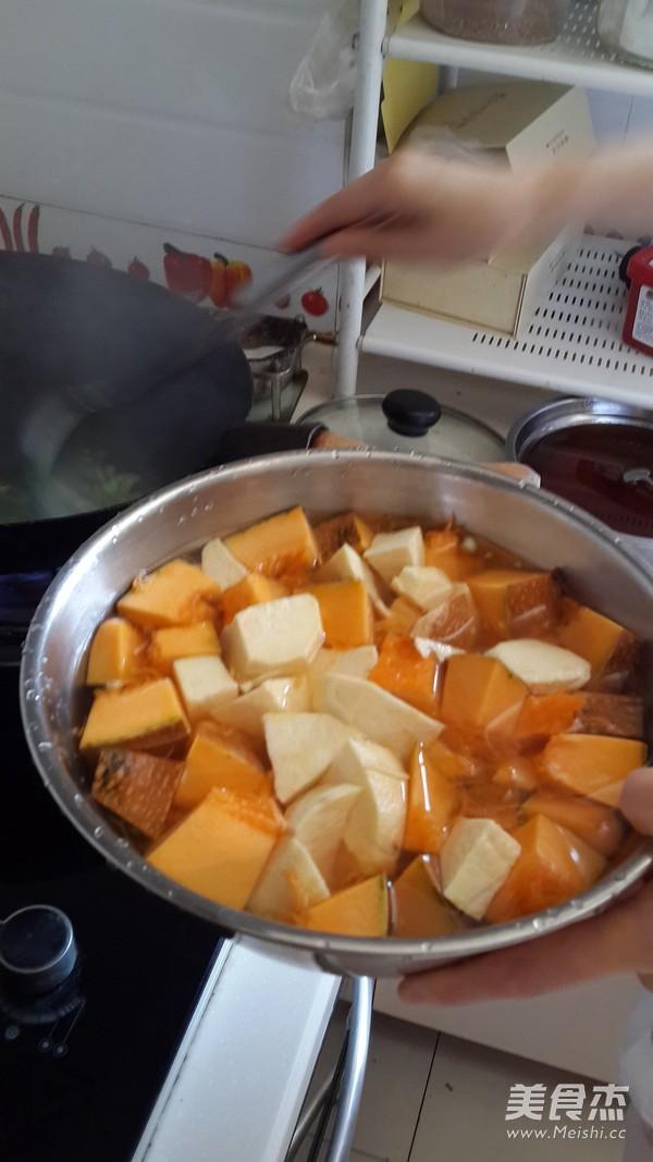 南瓜炖土豆的做法图解