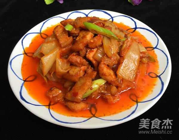 五花肉炒辣白菜盖饭怎样煮