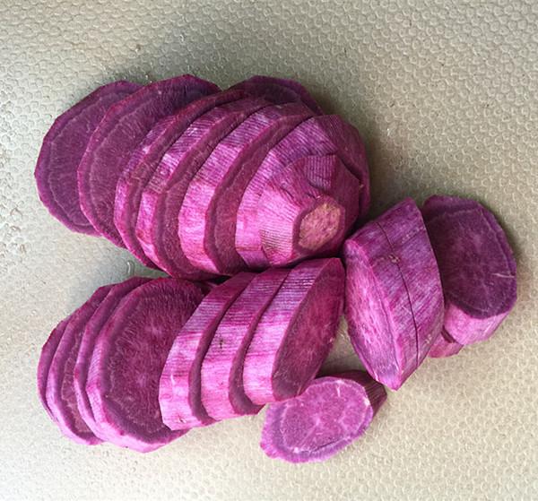紫薯发糕#早餐#的做法图解
