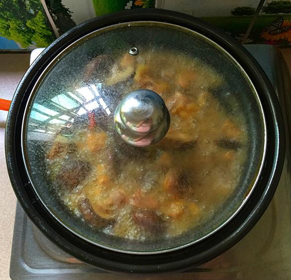 花菇焖烧土鸡肉#午餐#怎样煮