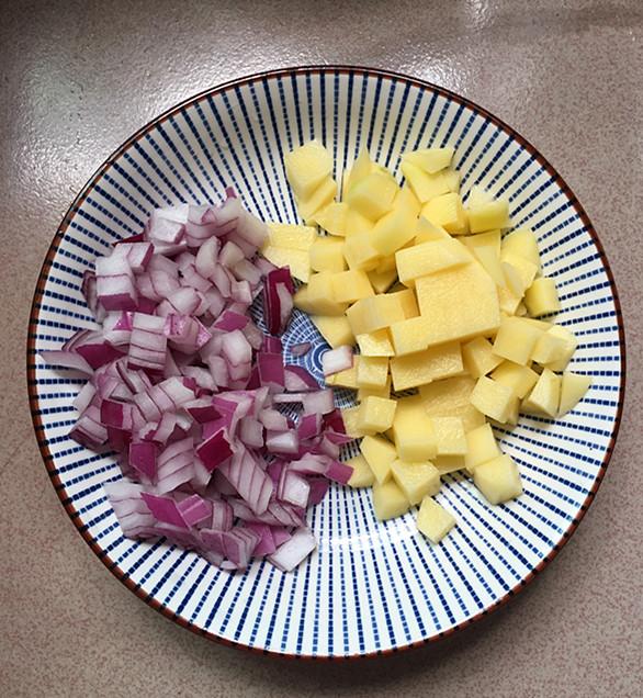 黑椒土豆鸡丁怎么吃