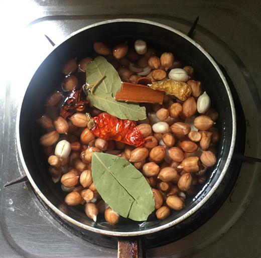 卤拌花生米的简单做法
