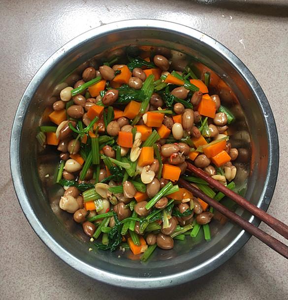 卤拌花生米的制作
