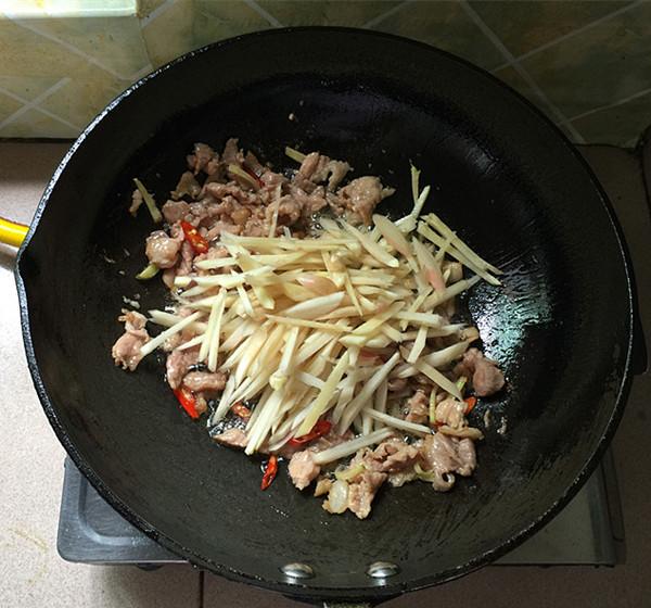 美食DIY ——仔姜炒瘦肉