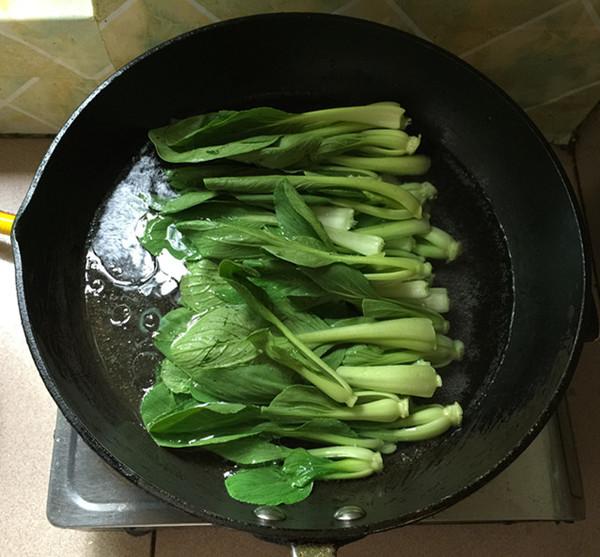凉拌上海青怎么吃