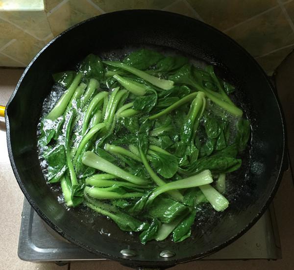 凉拌上海青怎么做
