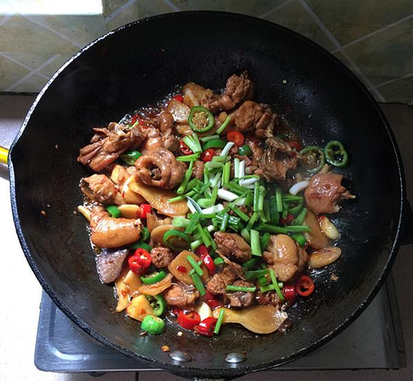 美食DIY——生炒仔姜鸡块