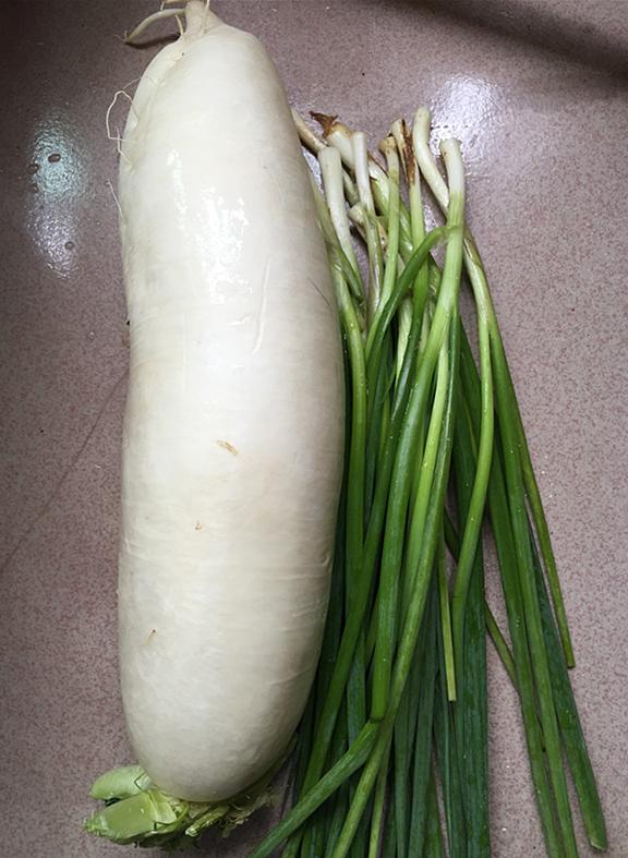 白萝卜丝肉包的家常做法