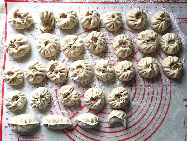 白萝卜丝肉包的制作方法