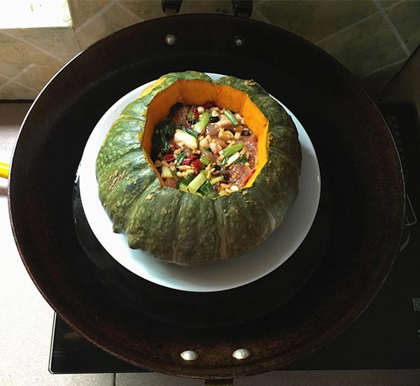 贝贝南瓜蒸排骨怎么煮
