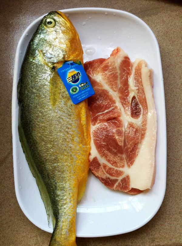 肉末蒸黄花鱼#霸王超市试用#的做法大全