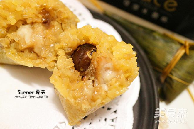 板栗肉粽成品图