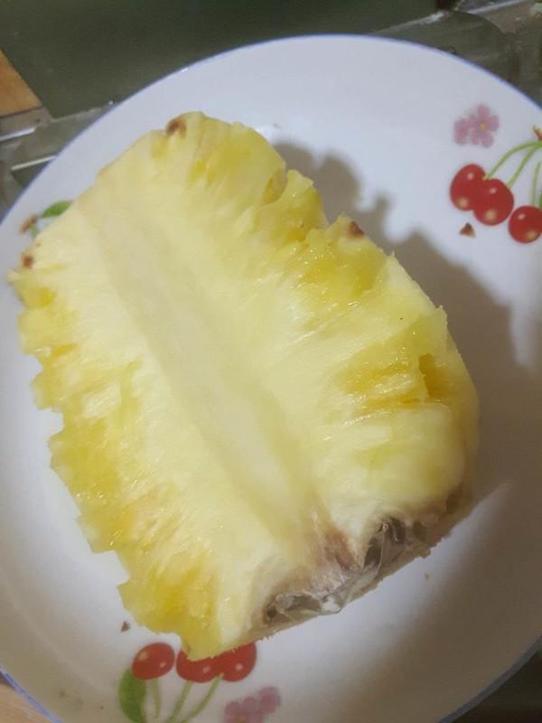 菠萝咕咾肉成品图