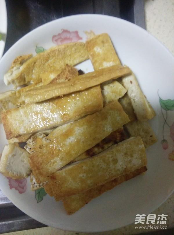 豆腐炒苹菇怎么吃