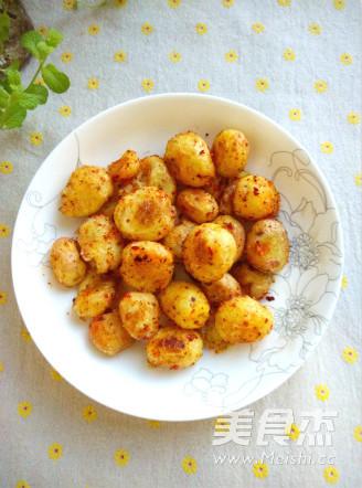 麻辣小土豆成品图