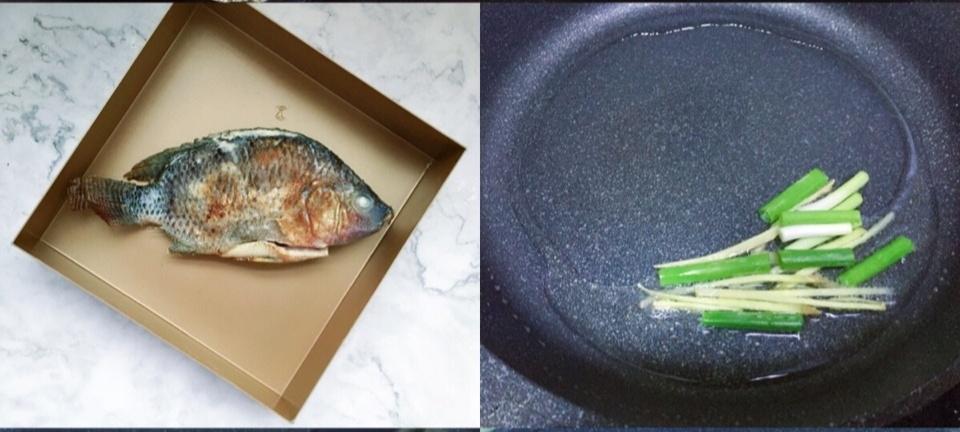 酸辣烤鱼怎么吃