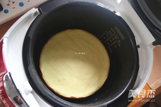 简单美味电压力饭锅蛋糕怎样做