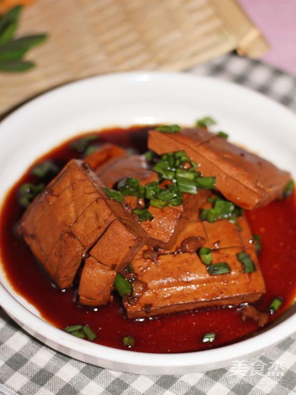 老汤豆腐干成品图