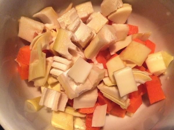 鲜虾炒时蔬的家常做法