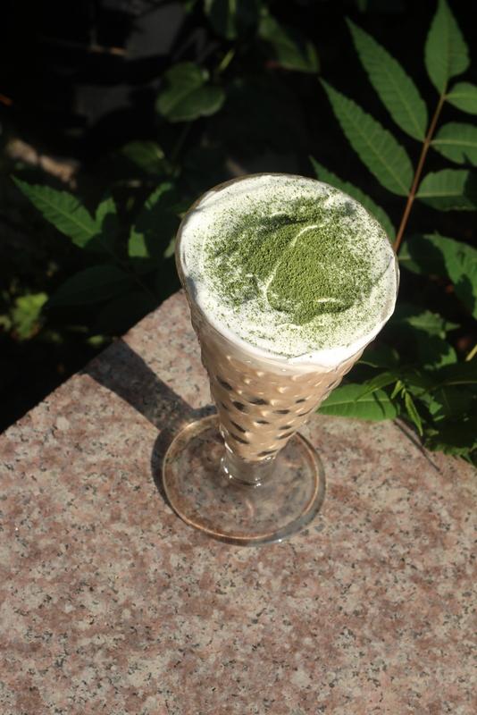 珍珠奶盖奶茶成品图