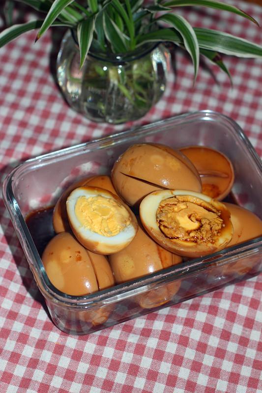 高汤卤蛋成品图