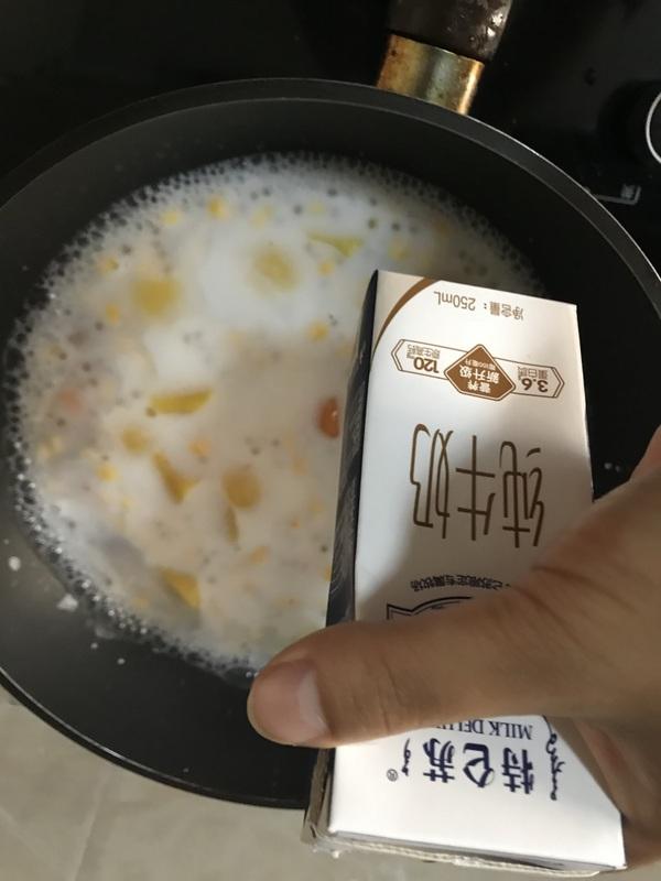 黄桃玉米芋圆甜汤怎么炖