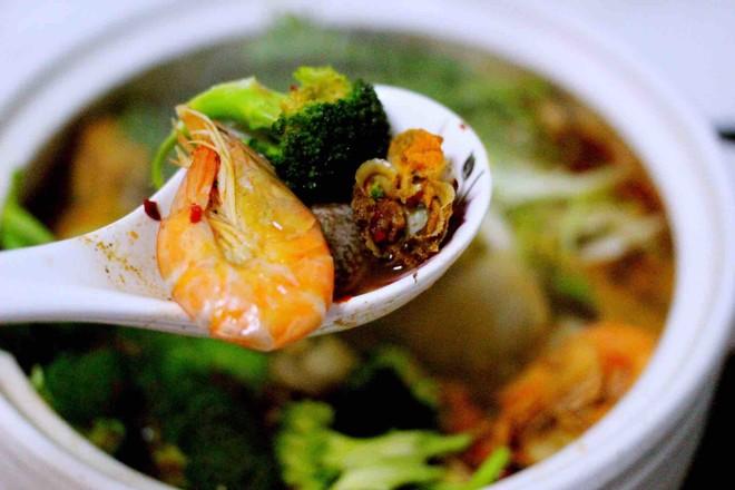 海鲜什锦火锅的做法大全