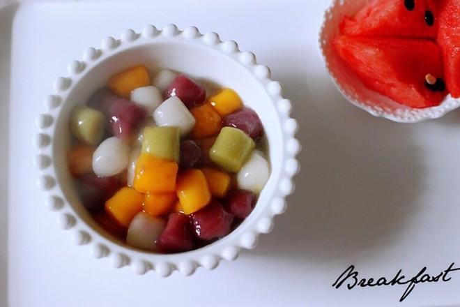 椰浆红豆芋圆水果捞怎么炖