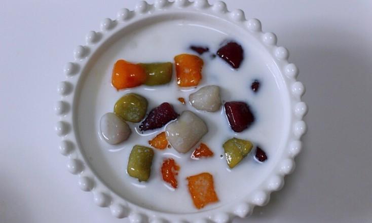 椰浆红豆芋圆水果捞怎么煸