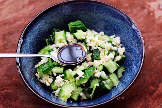 海米拌黄瓜怎么炖