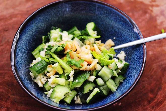 海米拌黄瓜怎样做
