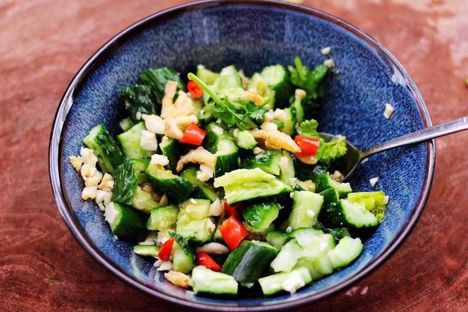 海米拌黄瓜怎样煮
