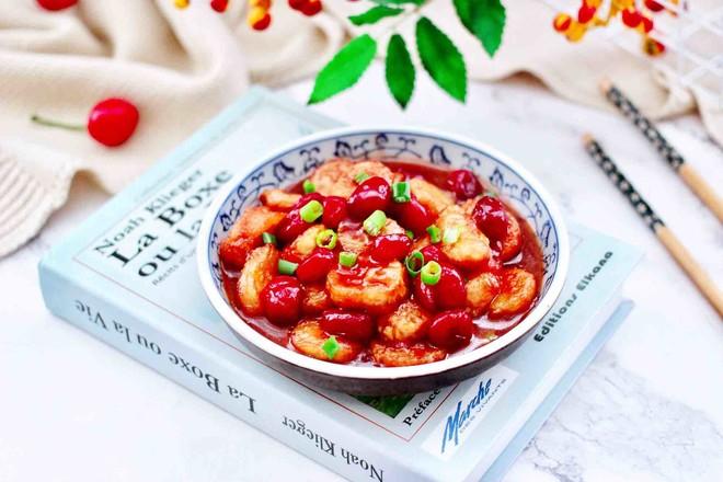 蔓越莓燴日式豆腐成品圖