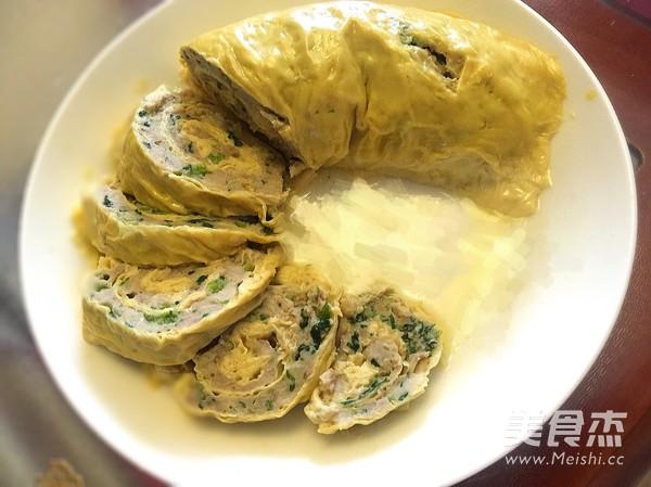 油豆皮蔬菜肉卷冷盘成品图