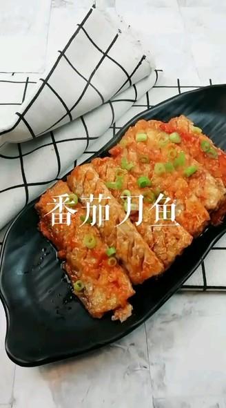 番茄刀鱼成品图