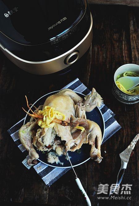 韩式参鸡汤--成品图