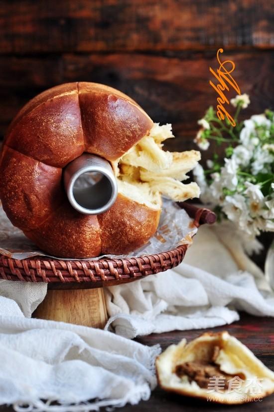 花生酱面包成品图