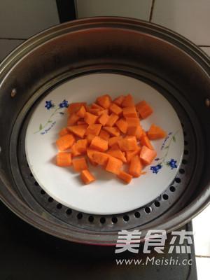 胡萝卜蛋糕小方的做法图解