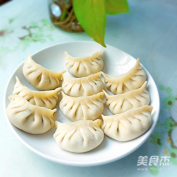 韭菜猪肉饺子怎么炒