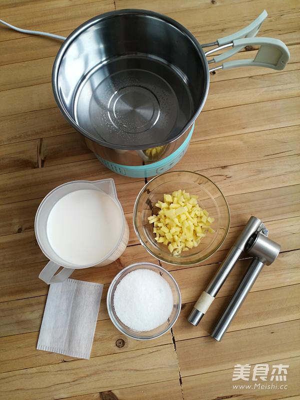 姜汁撞奶的做法大全