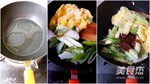 酱炒鸡蛋的做法图解