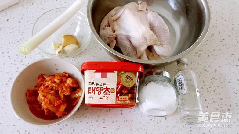 辣白菜鸡汤的做法大全