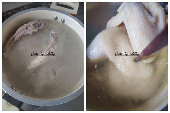 葱姜白斩鸡的家常做法
