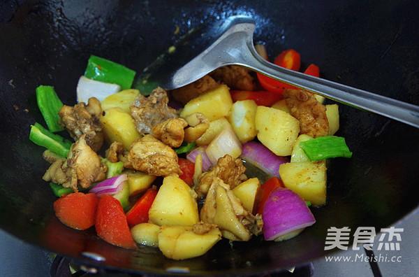 咖喱鸡肉饭怎么做