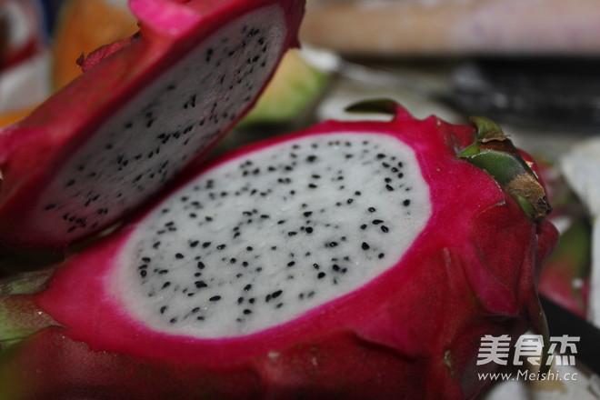 火龙果果冻的做法图解