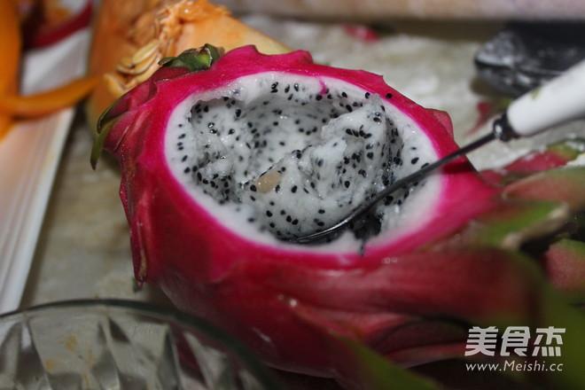 火龙果果冻怎么吃