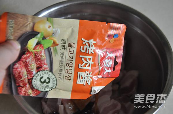 韩式烤五花肉的家常做法