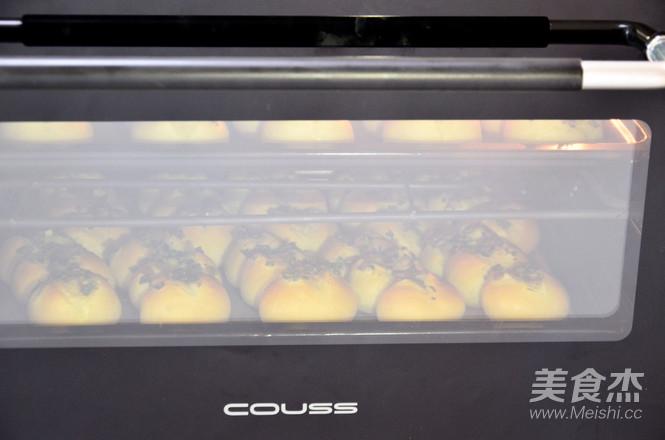 香葱培根面包的制作方法
