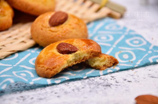 【杏仁酥】——冬季里的美食成品图